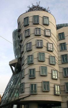 Dancing Building, Czech Republic, Prague Been there!