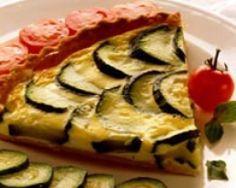 Tarte aux courgettes et basilic (facile, rapide) - Une recette CuisineAZ