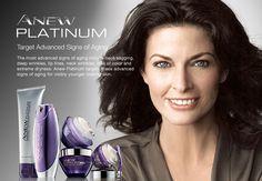 ANEW Platinum- Target #Advanced Signs of #Aging - Shop #Avon #Skincare at https://krislingsch.avonrepresentative.com