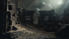 ArtStation - Lost Temple, David Edwards