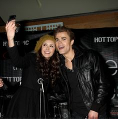 The Cast Of The Vampire Diaries Visits Hot Topic - January 30