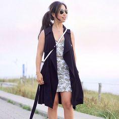 long vest - longer than dress