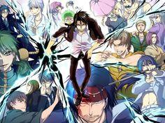 Toujou, Aoi, Kanzaki, Baby Beel, Furuichi, Oga, Nene, Hailda, En, Natsume, Himekawa, Senjurou