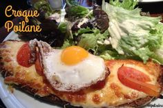 Cheap eats in Paris from Expat Edna (Pictured: Croque Madame at Le Nemrod)    Food for thought, @Kristin Messuri!