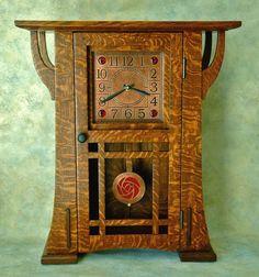 A mantel clock
