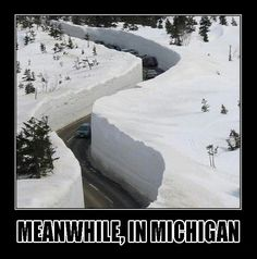 Michigan winter joke