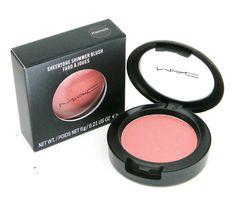 MAC sheertone shimmer blush - peachykeen