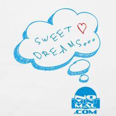 "Taie d'oreiller ""Sweet dreams""  | No minimal : Tee-shirts & accessoires"