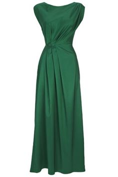 elegant one colored dress - 6 dresses to celebrate the Queen's 6 decades.