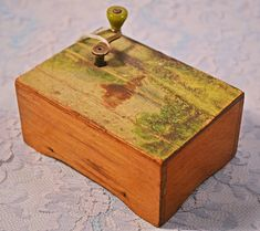 Your place to buy and sell all things handmade Jack And Jill, Music Boxes, Dogs And Kids, Wood Boxes, Vintage Toys, Bottle Opener, Vintage Antiques, Buy And Sell, Etsy Shop