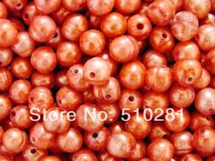 10-11mm 2.5mm hole 200pcs/lot Loose Freshwater Rice Pearl, Free Shipping No-516 $49.99