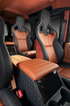 2012 Land Rover Defender Wood by Vilner - interior design Landrover Defender, Defender 90, Land Rover Defender 110, Custom Car Interior, Car Interior Design, Truck Interior, Automotive Upholstery, Car Upholstery, Jeep Cars