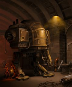 steampunk mecha by ZackF. #steampunk #victorian #Art #gosstudio .★ We recommend Gift Shop: http://www.zazzle.com/vintagestylestudio ★
