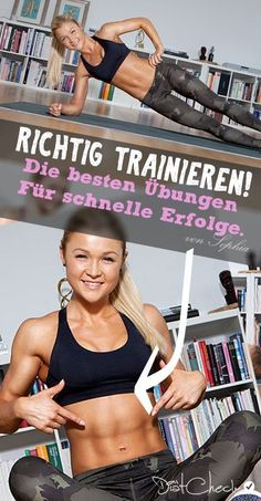 Ein guter Trainingsplan ist wegweisend für den Erfolg. Die Fitnessübungen von Sophia Thiel sind super gut um Fett zu verbrennen uns den Muskelaufbau zu unterstützen.