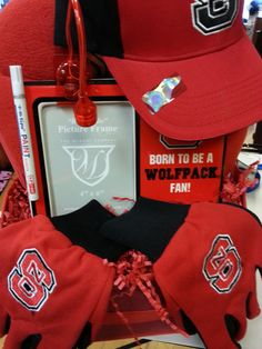 Gift Basket  North Carolina State University  by DylansUniqueGifts