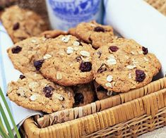 Oatmeal-Cherry Cookies via Midwest Living.