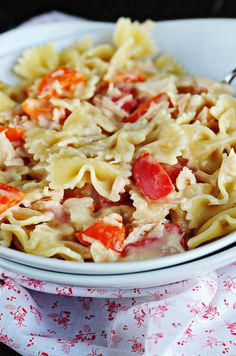 Honey Mustard Chicken and Veggie Pasta Salad