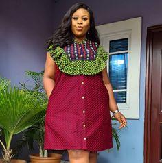 Short African Dresses, Ankara Short Gown Styles, Latest African Fashion Dresses, African Print Dresses, African American Fashion, African Inspired Fashion, African Print Fashion, Africa Fashion, African Attire