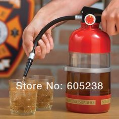 Firefighting Drink Dispenser Novelty in the Party  / Fire Extinguisher Drink Dispenser-in Drink Dispensers from Indust...