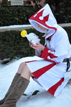 Fanartmy ffxiv White Mage cosplay ...
