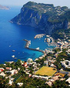 Capri Beach - Italy ~ @My Travel Manual