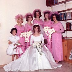 Bridesmaids of 1960s