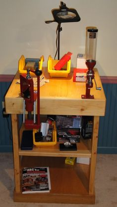 small reloading bench plans