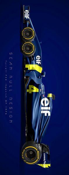 (°!°) Retro Tyrrell P34 by Sean Bull Design