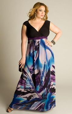 Plus size lovely dress.