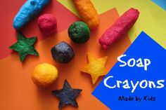DIY Soap Crayons – Made By Kids