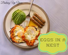 Baking Up Yum: Eggs in a Nest - Whole Life Challenge and Paleo friendly!