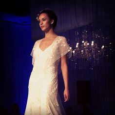 My dream LAZARO dress is at Bisou Bridal! KAMILA  K G