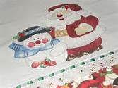 Guardanapo 15 - Papai Noel Guardanapo 15 - Papai Noel