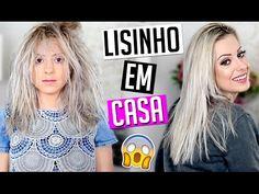 CHEGA DE CHAPINHA!!! - COMO DEIXAR O CABELO LISO EM CASA - PROGRESSIVA DE CHUVEIRO - YouTube