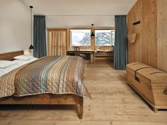 coloris. bureau banquette Florian Nagler > Remodelling and Extension of Hotel Tannerhof in Bayrischzell