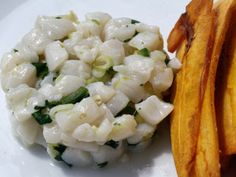 The Secret Ingredient (Key Lime): Key Lime Scallop Ceviche | Serious Eats: Recipes - Mobile Beta!""