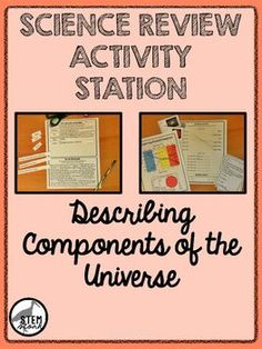 In this engaging review station, your middle school students will review the components of the universe like galaxies, stars, and nebulae.  Students will also practice reading Hertzsprung-Russell diagrams.  This station is targeted at 8th grade science TEKS 8.8.A.