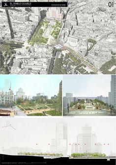 Estas son las propuestas que compiten para remodelar la Plaza España en Madrid,El diablo cojuelo. Image © Difusión Ayuntamiento de Madrid