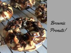 Brownie Pronut's (Protein-Donuts)