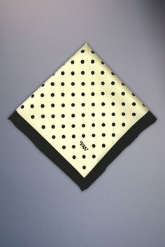 Cream with Black dots - For Brian?
