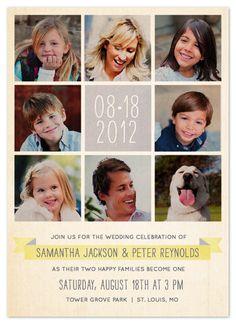 Blended Family Wedding Invitations | Wedding Invitations   Celebration Of  Family By Dawn Jasper