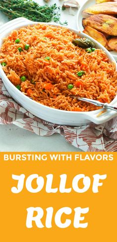 Easy, flavorful and perfectly cooked Jollof rice made completely in the in the oven, 5 min prep - no blending or stirring involve. Oven Recipes, Spicy Recipes, Side Dish Recipes, Dinner Recipes, Drink Recipes, Side Dishes, Rice In The Oven, Oven Vegetables, Cooking Whole Chicken