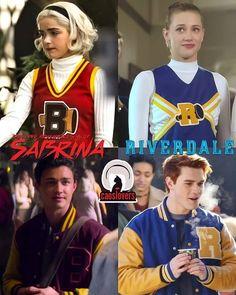 Sabrina Cast, Betty & Veronica, Weird Sisters, Riverdale Cw, Cw Dc, Kiernan Shipka, Sabrina Spellman, First Tv, Netflix Series