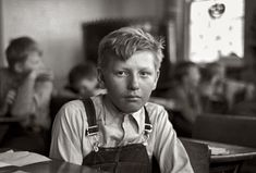 November 1937. Pupil in rural school. Williams County, North Dakota. 35mm nitrate negative by Russell Lee