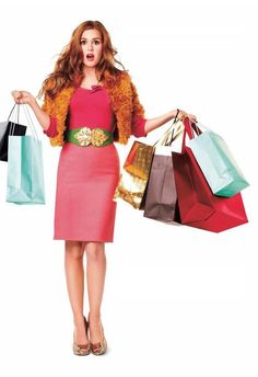 Confessions of A Shopoholic, Sophie Kinsella. The movie does not do justice to the juggernaut that is Kinsella.