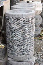 Brand New Balinese Hand Crafted Pebble Pot Bali Pebble Pot