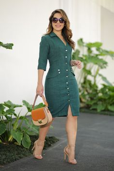 Shop Sexy Trending Dresses – Chic Me offers the best women's fashion Dresses deals Chic Outfits, Dress Outfits, Fashion Outfits, Womens Fashion, Office Dresses For Women, Dresses For Work, Clothes For Women, Simple Dresses, Cute Dresses