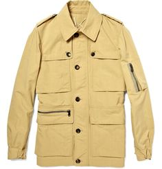 Yves St. Laurent Sahariana Shirt, this is a version of a Safari Jacket that is worn as a shirt only £286.25