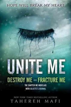 Perfect for fans of Tahereh Mafi's New York Times bestselling Shatter Me trilogy, this book collects her two companion novellas, Fracture Me and Destroy Me , in print for the first time ever. It also