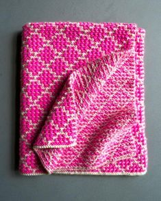 Mosaic Blanket   The Purl Bee